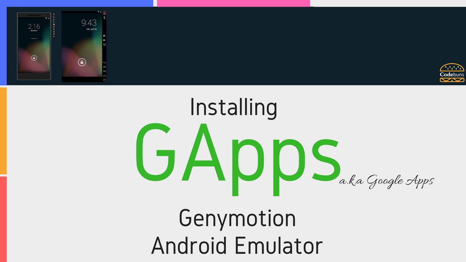 installing google apps on genymotion