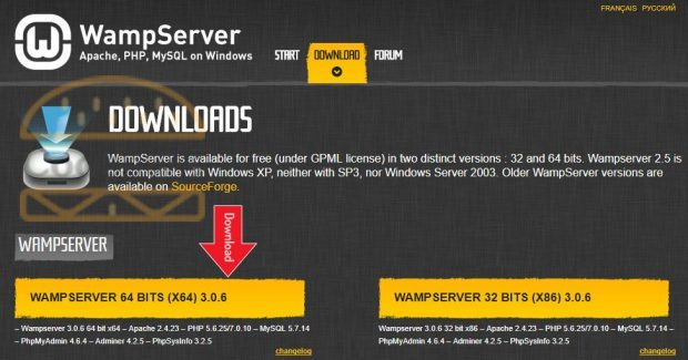 wampserver download