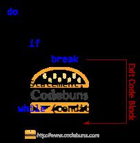 do-while loop break statement