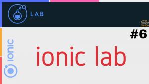 ionic lab