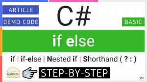 C# if else Statement