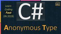 C# Anonymous Type