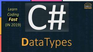 C# DataTypes