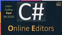 C# Online Editors