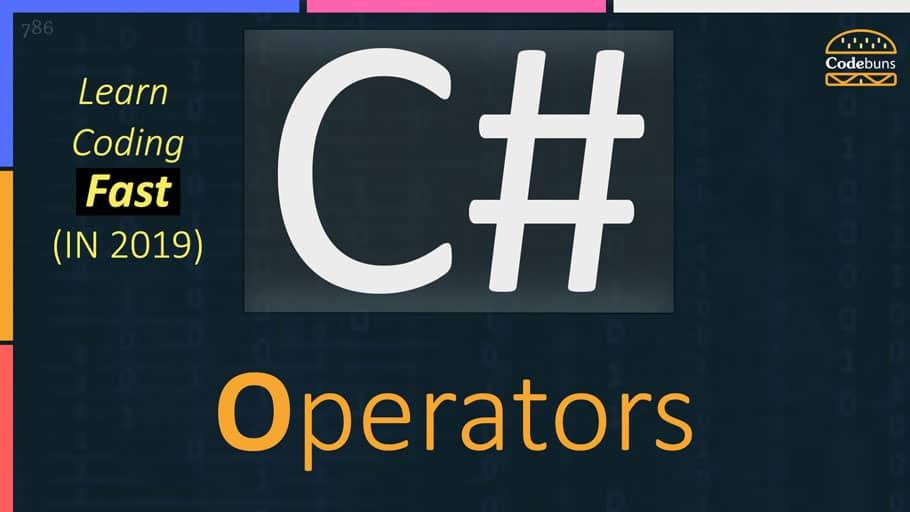 C# Operators