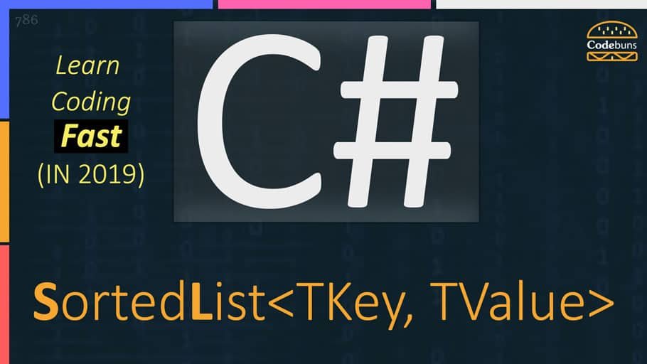 C# SortedList