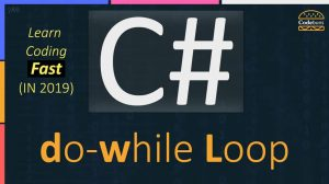 C# do-while loop