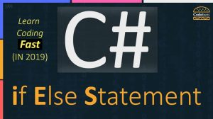 C# if else Statement