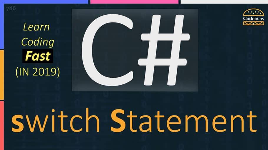 C# switch Statement
