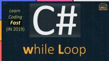 C# while loop