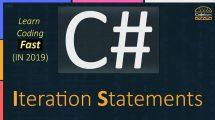 Iteration Statements