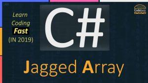 C# Jagged Array