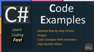 C# Code Examples